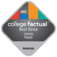 Best Value Associate Degree Colleges for Vehicle Maintenance & Repair in California