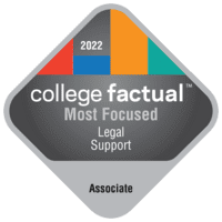 Most Focused Associate Degree Colleges for Legal Support Services in the Great Lakes Region