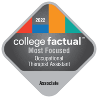 Most Focused Associate Degree Colleges for Occupational Therapist Assistant in the Southeast Region