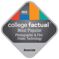 Most Popular Associate Degree Colleges for Photographic & Film/Video Technology/Technician & Assistant in California