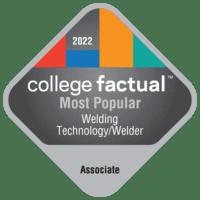 Most Popular Associate Degree Colleges for Welding Technology/Welder in Montana