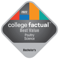 Best Value Bachelor's Degree Colleges for Poultry Science