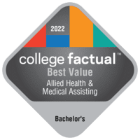 Best Value Bachelor's Degree Colleges for Other Allied Health and Medical Assisting Services