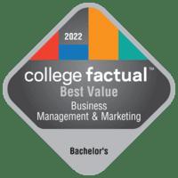 Best Value Bachelor's Degree Colleges for Business, Management & Marketing
