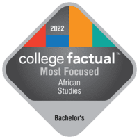 Most Focused Bachelor's Degree Colleges for African Studies