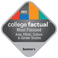 Most Focused Bachelor's Degree Colleges for Area, Ethnic, Culture, & Gender Studies in the Southeast Region