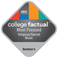 Most Focused Bachelor's Degree Colleges for Religious/Sacred Music in Texas