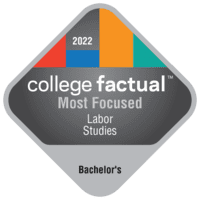 Most Focused Bachelor's Degree Colleges for Labor Studies