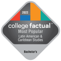 Most Popular Bachelor's Degree Colleges for Latin American & Caribbean Studies