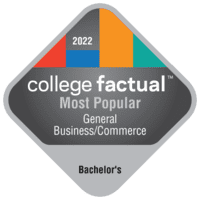 Most Popular Bachelor's Degree Colleges for General Business/Commerce in California