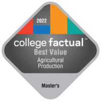 Best Value Master's Degree Colleges for Agricultural Production