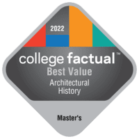 Best Value Master's Degree Colleges for Architectural History