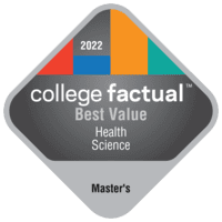 Best Value Master's Degree Colleges for Health Professions