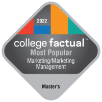 Most Popular Master's Degree Colleges for Marketing/Marketing Management, General in the Far Western US Region