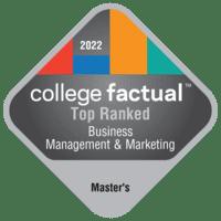 Best Business, Management & Marketing Master's Degree Schools