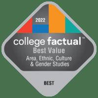 Best Value Colleges for Area, Ethnic, Culture, & Gender Studies