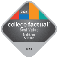 Best Value Colleges for Nutrition Science