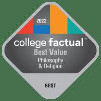 Best Value Colleges for Philosophy & Religious Studies