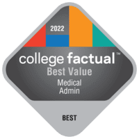 Best Value Colleges for Health & Medical Administrative Services in the Southeast Region