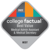 Best Value Colleges for Medical Administrative/Executive Assistant & Medical Secretary in California