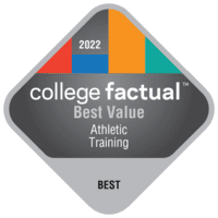 Best Value Colleges for Athletic Training