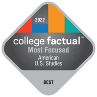 Most Focused Colleges for American U.S. Studies in the Southeast Region