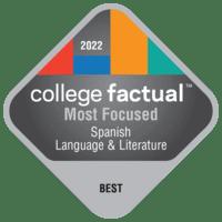Most Focused Colleges for Spanish Language & Literature in Ohio