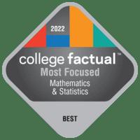 Most Focused Colleges for Mathematics & Statistics