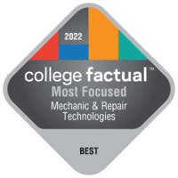 Most Focused Colleges for Mechanic & Repair Tech (Other)