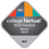 Most Focused Colleges for Health & Medical Administrative Services