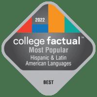 2022 Best Colleges in General Hispanic & Latin American Languages, Literatures, & Linguistics