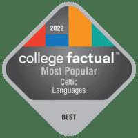 2022 Best Colleges in Celtic Language & Literature