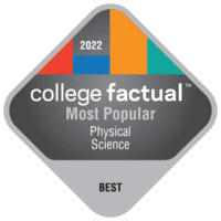 Most Popular Colleges for General Physical Sciences in the Far Western US Region