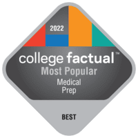 Most Popular Colleges for Health/Medical Prep Programs