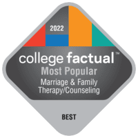Most Popular Colleges for Marriage and Family Therapy/Counseling in the New England Region